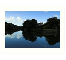 Mirror Image - Sulby River Art Print
