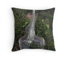 Cooling Off In The Florida Heat  Throw Pillow