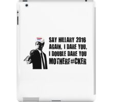 Funny Trump 2016 Shirt iPad Case/Skin