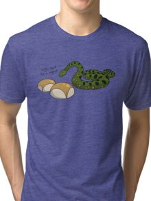 Anacondas Seriously Don't Even Like Buns Tri-blend T-Shirt