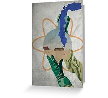 Breaking Bad Beaker Greeting Card