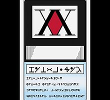 HUNTER LICENSE For Iphone - Hunter x Hunter  by ViralNarukami