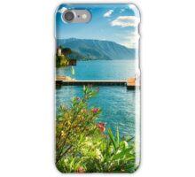 Varenna Harbor View iPhone Case/Skin