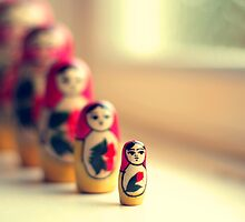 Matryoshka Dolls by ShereenM