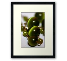 Super Green Framed Print