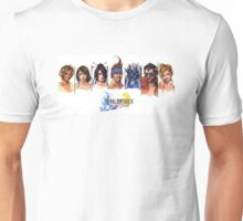 Final Fantasy X Characters Unisex T-Shirt