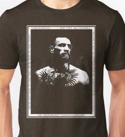 "Conor McGregor ""King"" Version 2 Unisex T-Shirt"