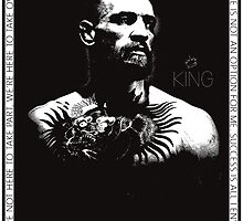 "Conor McGregor ""King"" Version 2 by tshirtsrus"