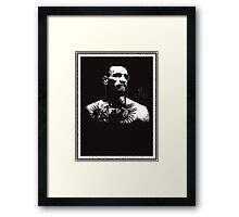 "Conor McGregor ""King"" Version 2 Framed Print"