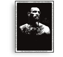 "Conor McGregor ""King"" Version 2 Canvas Print"