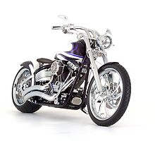 Its not a motorcycle, its a chopper by Martyn Franklin