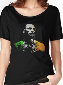 """Conor McGregor """"Irish Colors"""" Women's Relaxed Fit T-Shirt"""