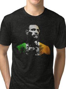 "Conor McGregor ""Irish Colors"" Tri-blend T-Shirt"