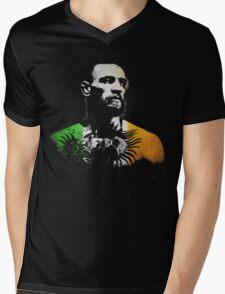 """Conor McGregor """"Irish Colors"""" Mens V-Neck T-Shirt"""