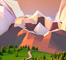 Polygon Mountain by Guffrey