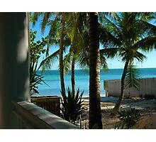Louie's Backyard, Key West Florida Photographic Print