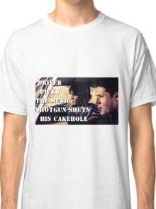 Supernatural - Impala rules Classic T-Shirt