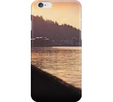 Sunrise reflection over water iPhone Case/Skin