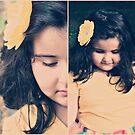 Gia's yellow flower by Angel Warda