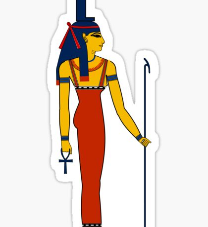 Isis | Egyptian Gods, Goddesses, and Deities Sticker