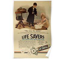 Advertisements Photoplay Magazine July through December 1919 0290 Life Savers Poster