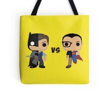Bruce vs Clark Tote Bag