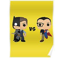 Bruce vs Clark Poster