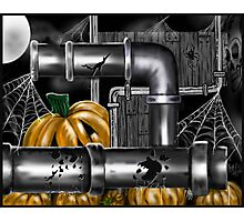 """Pumpkin Pipes 2"" Photographic Print"