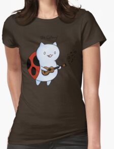 Catbug! Womens Fitted T-Shirt