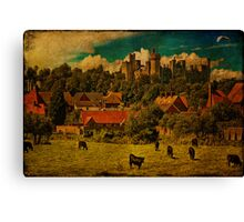 Arundel and Cows Canvas Print