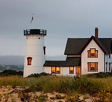 Stage Harbor LIghthouse by bettywiley