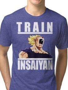 Train Insaiyan  Tri-blend T-Shirt