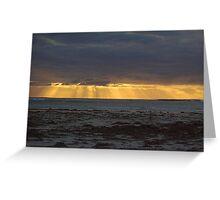 Westend Sunset Geraldton Greeting Card