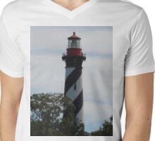 St. Augustine Mens V-Neck T-Shirt