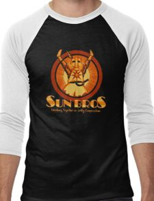 Sun Bros Men's Baseball ¾ T-Shirt