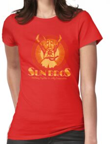 Sun Bros Womens Fitted T-Shirt