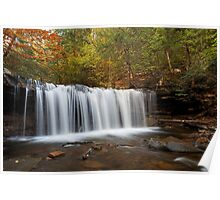 Oneida Falls (Autumn) Poster
