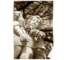 Queen Victoria Memorial Fountain Poster