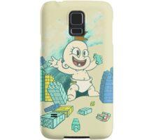 Babyzilla's Path of Destruction Samsung Galaxy Case/Skin
