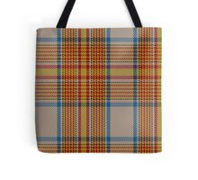 02884 Espana District Tartan  Tote Bag