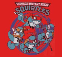 Teenage Mutant Ninja Squirtles One Piece - Long Sleeve