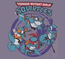 Teenage Mutant Ninja Squirtles Kids Tee