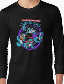 Teenage Mutant Ninja Squirtles Long Sleeve T-Shirt
