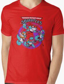 Teenage Mutant Ninja Squirtles Mens V-Neck T-Shirt