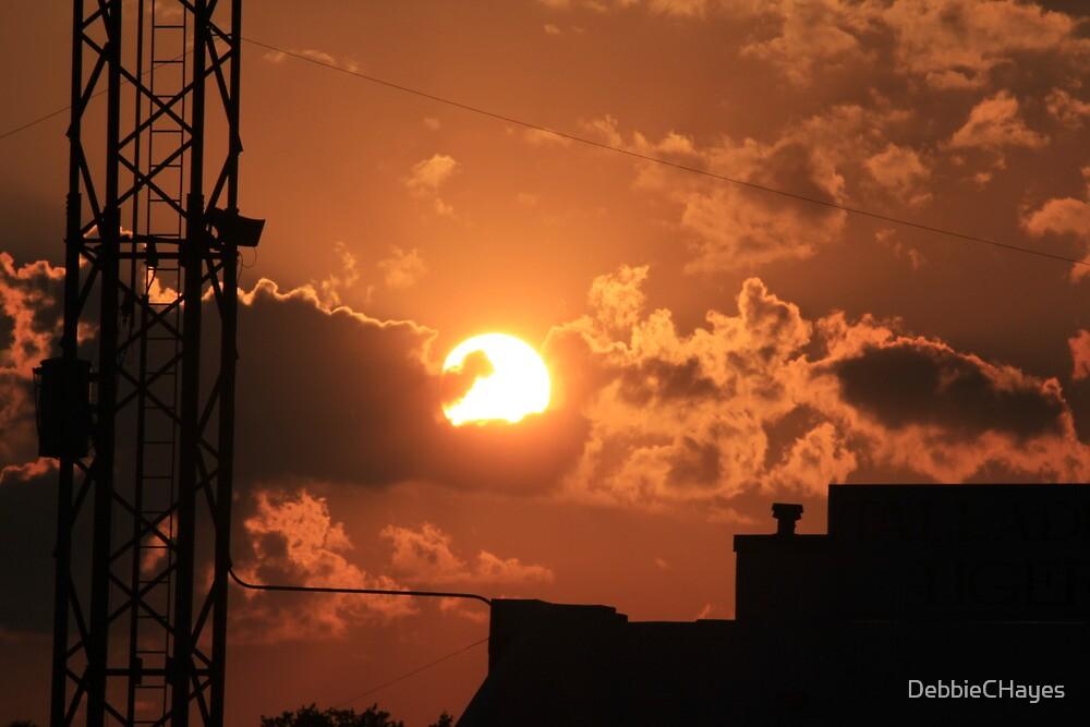 Talladega Sunset by DebbieCHayes