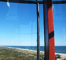 View from top of Fire Island Light, NY by chipster