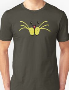 cat face with lotsa big whiskers T-Shirt