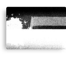 PRINT – Halftone screen 1 Canvas Print