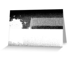 PRINT – Halftone screen 1 Greeting Card