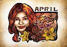 Brenda of April by AlexKujawa